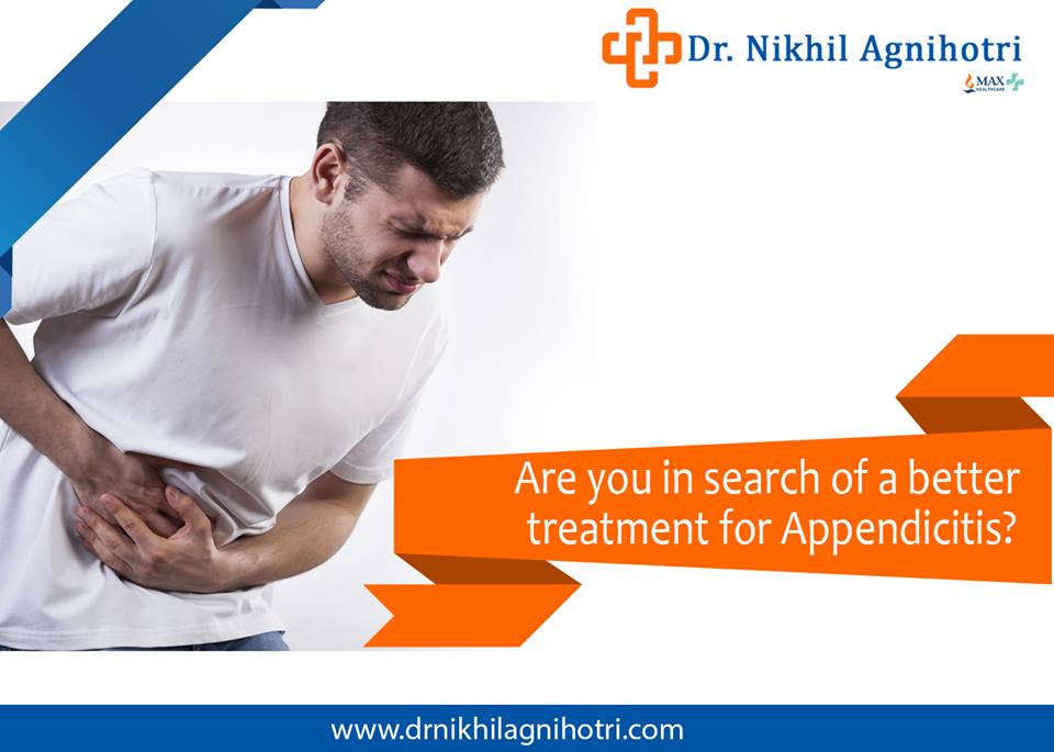 Appendicitis Treatment new delhi